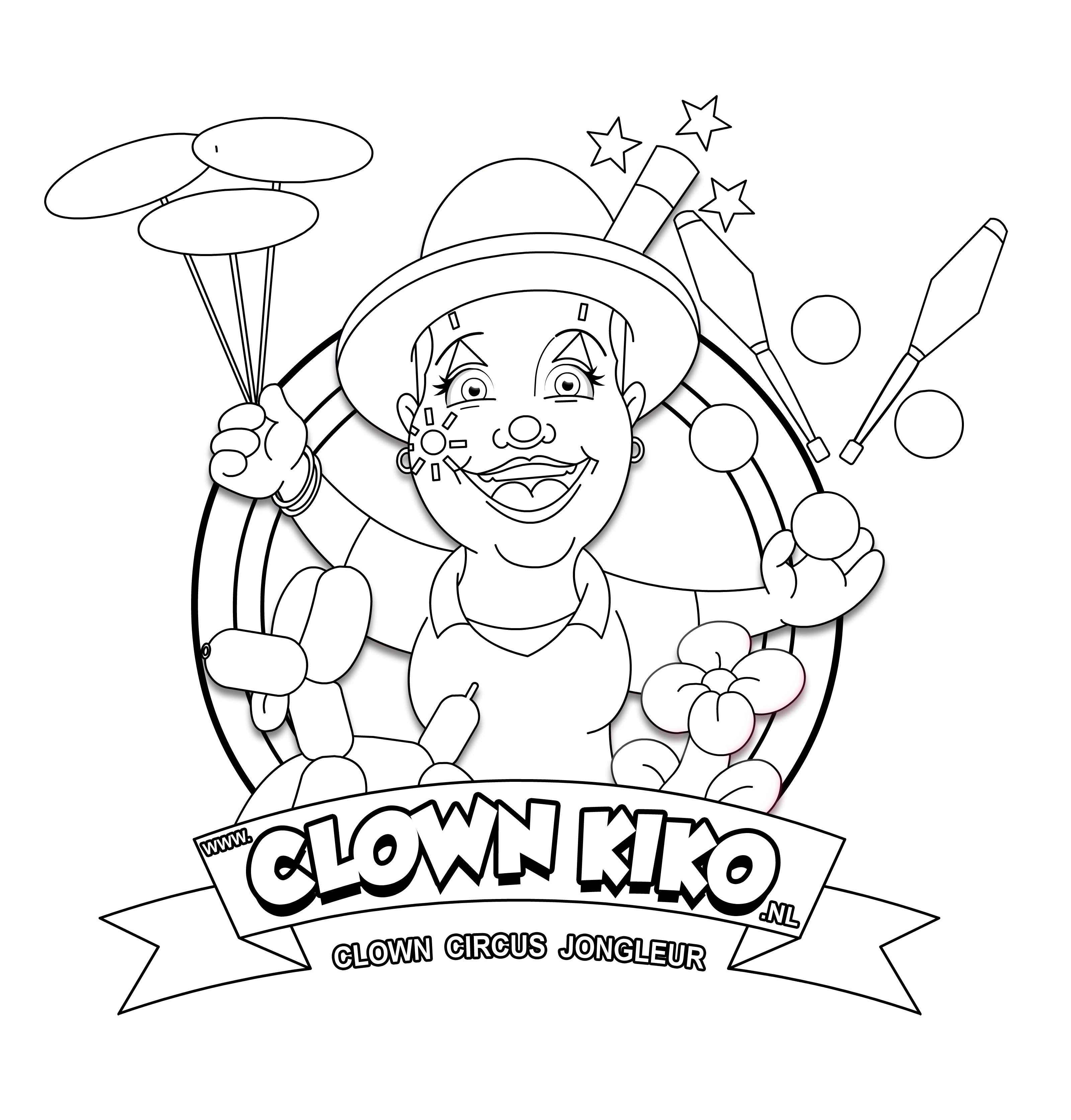 Kleurplaten Pipo De Clown.Fris Kleurplaten Van Pipo De Clown Klupaats Website