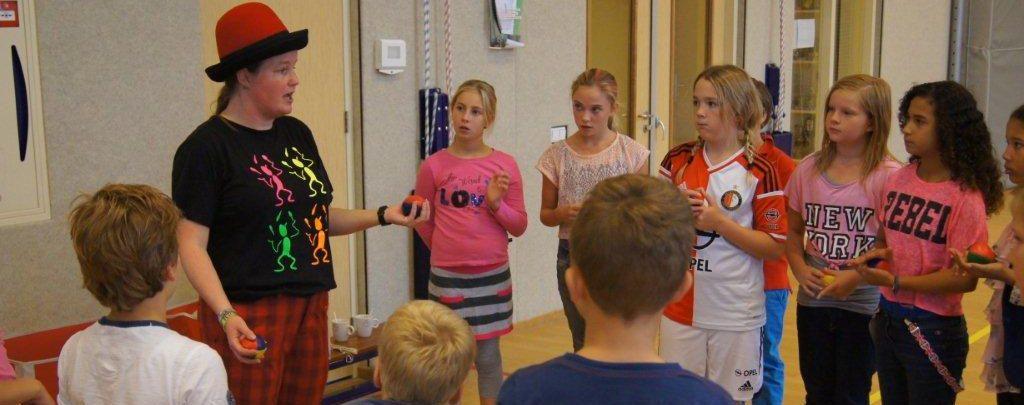 Workshop jongleren – Circus Kiko Workshops