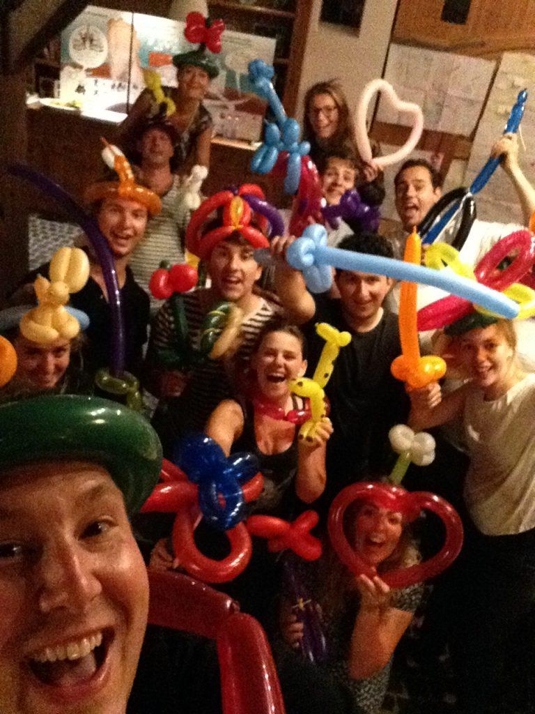 Circus Kiko Workshops - Workshop Ballon Figuren Vouwen