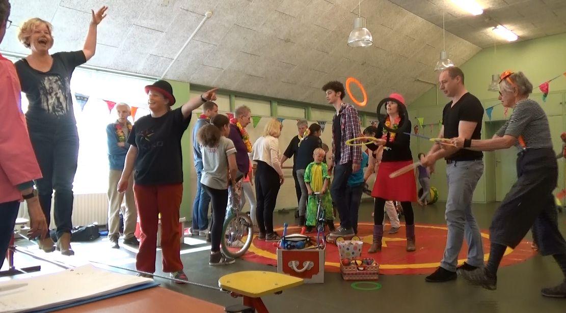Circus Kiko Workshops - Circus orkshops op een familiedag Amsterdam