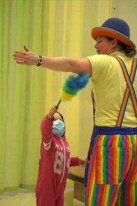 Clown Kiko - Contactclown in kinder ziekenhuis