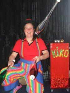 Clown & jongleur Kiko - Circus Kiko Optredens
