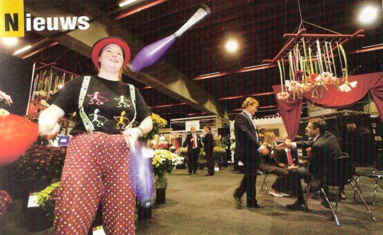 Jongleur Kiko - beurs jongleren