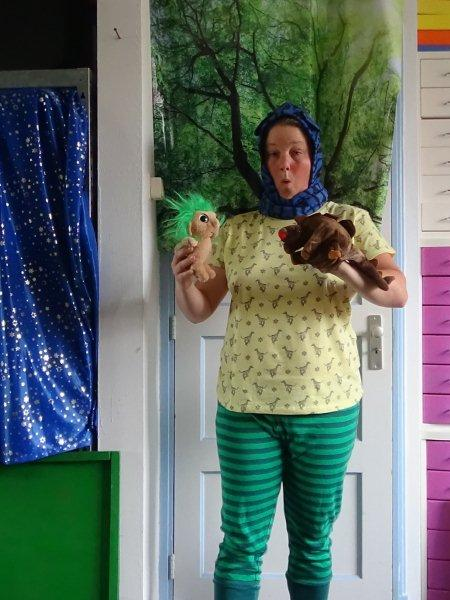 Kiko's Kindertheater Kinderboekenweek 2017 Voorstelling 'het Griezelbos'