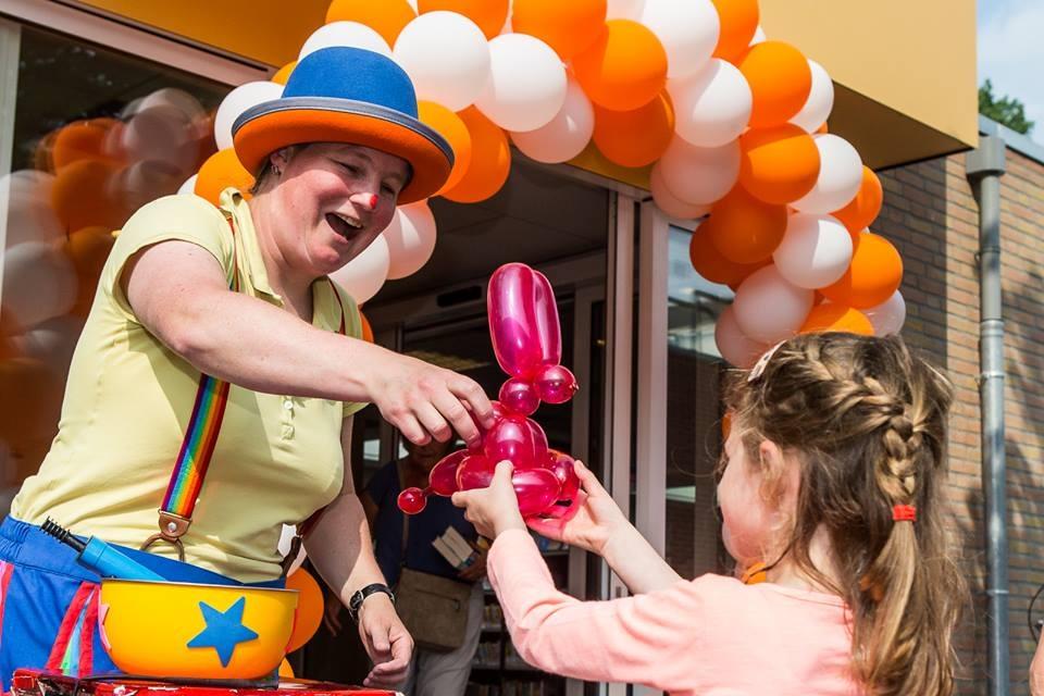 Ballonnen Clown Kiko - ballon figuren vouwen