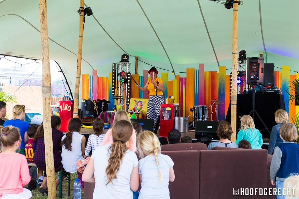 Kiko's Kindertheater - Familievoorstelling 'in de soep' - op foodtruckfestival het Hoofdgerecht in Amsterdam