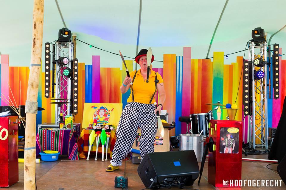 Kiko's Kindertheater - Familievoorstelling 'in de soep' - op foodtruck festival het Hoofdgerecht in Amsterdam