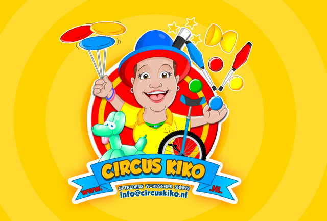 Circus Kiko - Interactieve optredens, circus entertainment, shows en cicus workshops