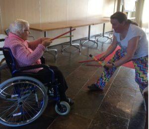 Cirucs  Kiko interactief optreden voor ouderen