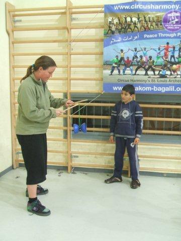 circus kiko workshops dag op school diabolo uitleg