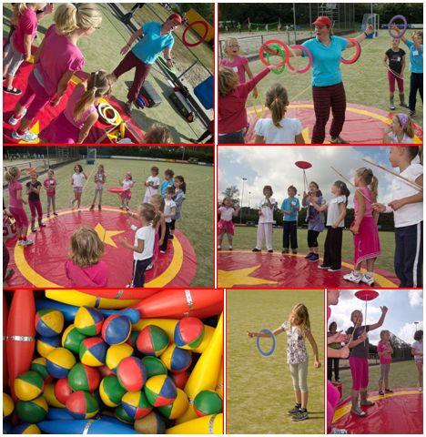 circus kiko workshops -jongleren