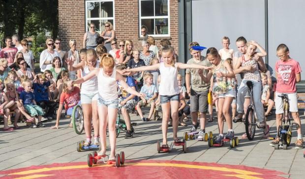 circus kiko - circusdag met eindshow door de kinderen voor ouders- pedalo'sact