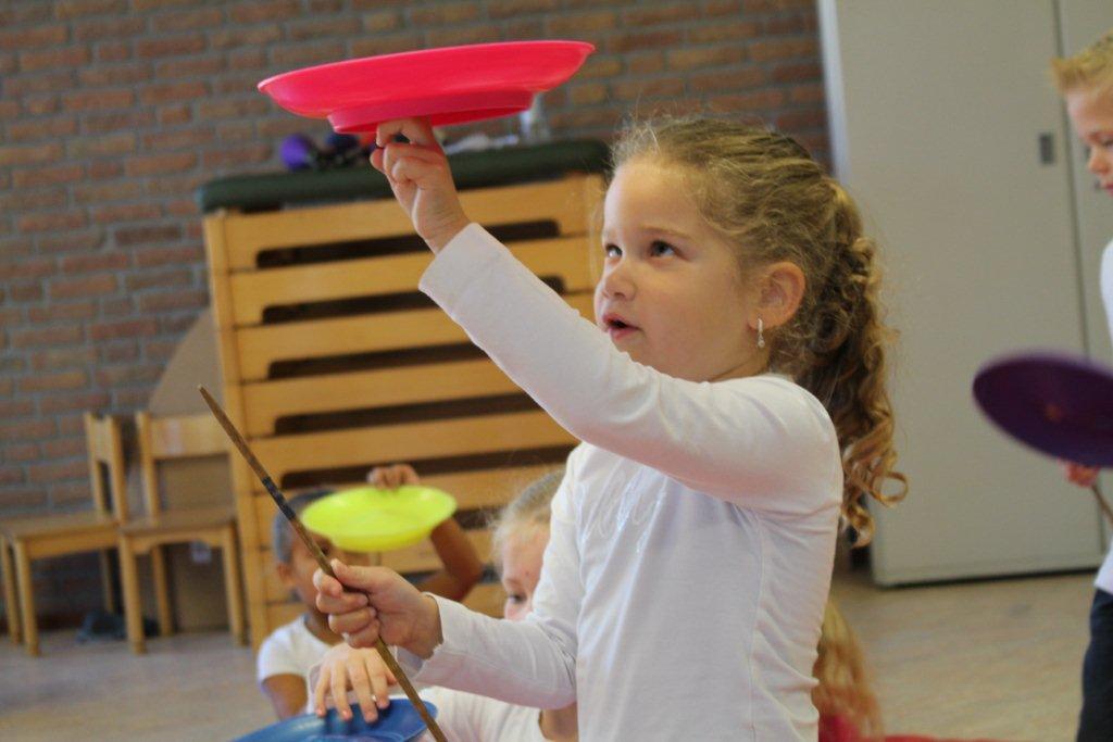 circus kiko workshops dag op school chinese bordjes draaien