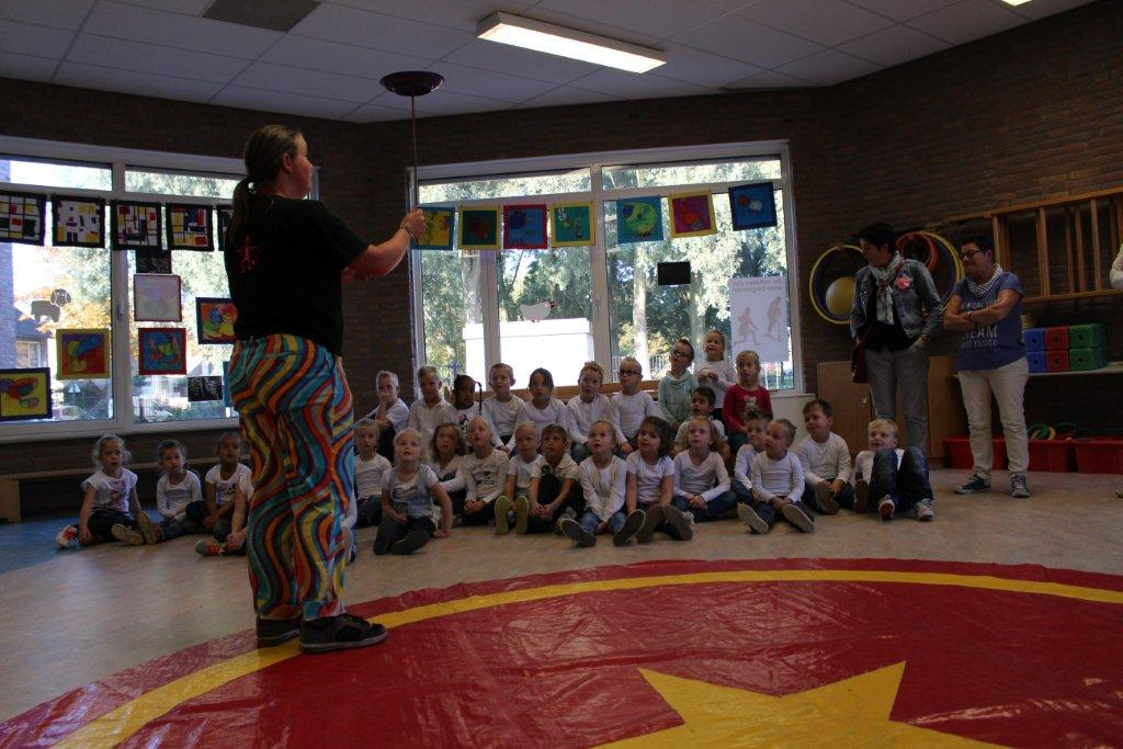 circus kiko workshops dag op school chinese bordjes demo