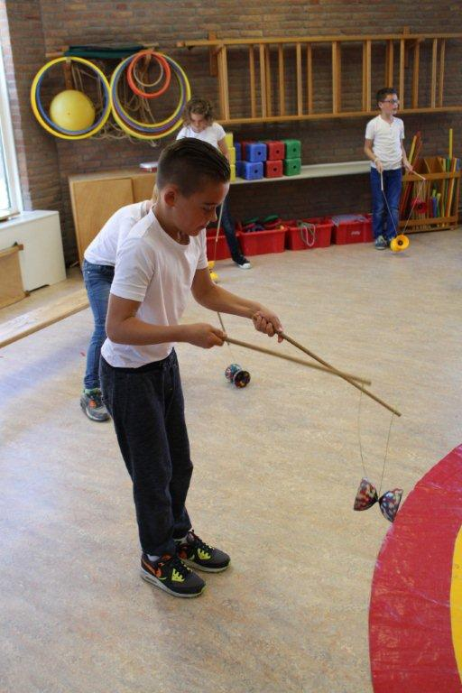 circus kiko workshops dag op school diabolo