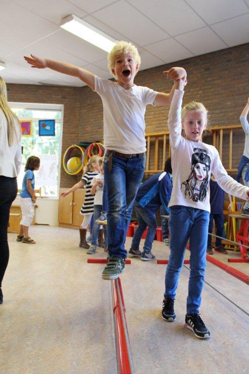 circus kiko workshops dag op school koorddansen