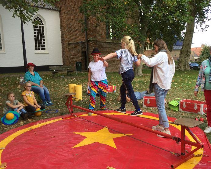 Circus Kiko Workshops - koorddansen